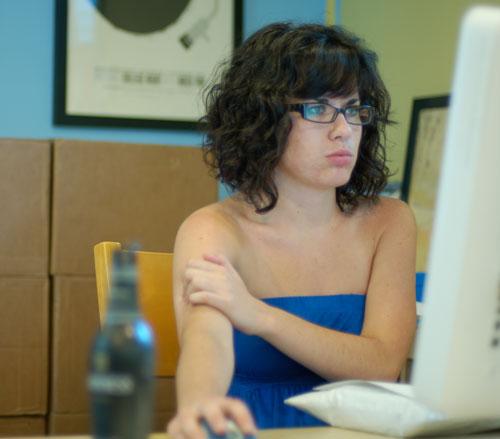sarah-working